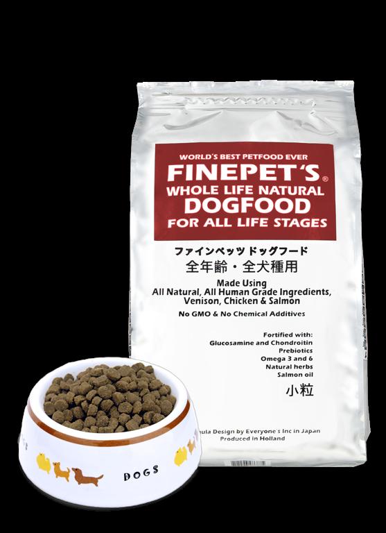 NEW FINEPET'S 新処方 ドッグフード小粒